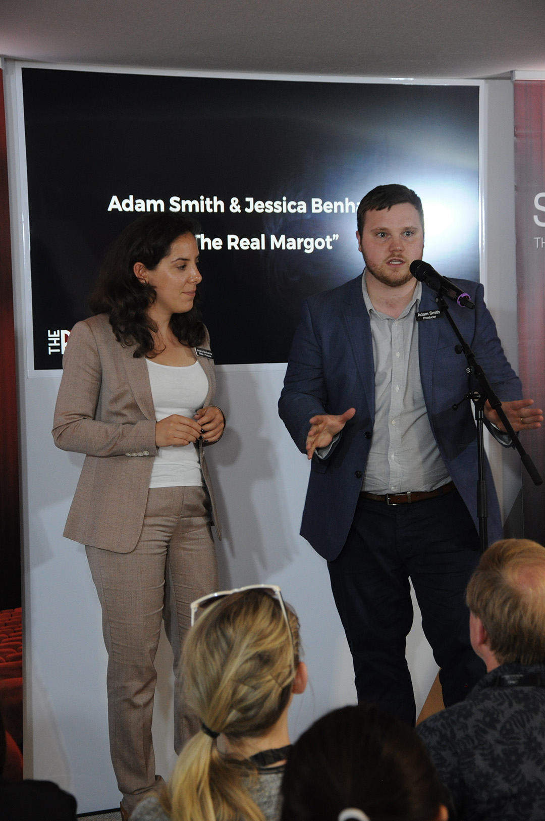 Jessica Benhamou & Adam Smith
